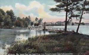 EAST WINTHROP, Maine, 00-10s; Island Park And Hotel Pines, Lake Cobosseecontee
