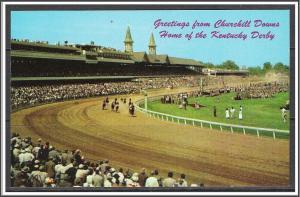 Kentucky, Louisville Churchill Downs Kentucky Derby - [KY-009]