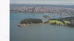 Brocton Point Aerial and Vancouver Waterfront, Vancouver,  B.C.,  Canada,  40...