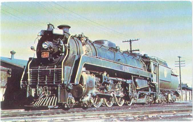 # 6072 Canadian National Railways 4-8-2 at Winnipeg Manitoba