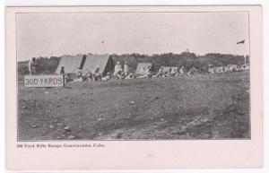Rifle Range #2 Military Guantanamo Cuba 1905c postcard