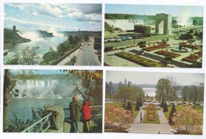 Canada Niagara Falls Views American Horseshoe Oakes 4 Cards