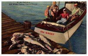 Sea Biscuit , Salt Water fishing trip