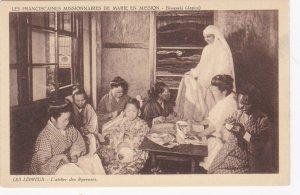 Leper girls , Biwasaki (Japan) , LES LEPREUX - L'atelier des lepreuses , 1910s
