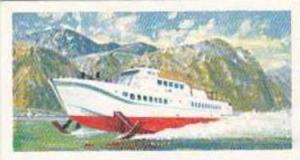 Brooke Bond Tea Vintage Trade Card Transport Through The Ages 1966 No 46 Hydr...