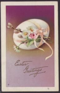 Easter Greetings,Egg,Flowers