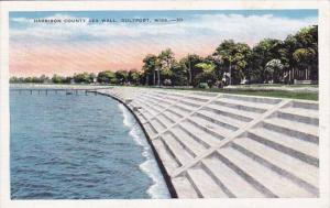 Mississippi Gulfport Harrison County Sea Wall