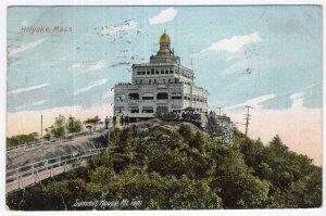 Holyoke, Mass, Summit House, Mt. Tom