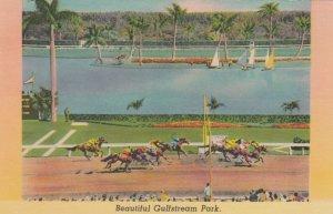 Horse Race Track , HOLLYWOOD , Florida , 1930-40s ; Gulf Stream Park