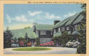 In The Oaks Residence Of Mrs F S Terry Black Mountain North Carolina