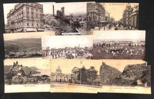Lot 20 vintage postcards South Africa mixed cond. see pics