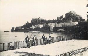 Corfu Greece vintage photo postcard citadelle ancienne vue d`ouest Corfou