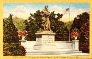 West Virginia Wheeling Madonna Of The Trail Monument Dexter Press
