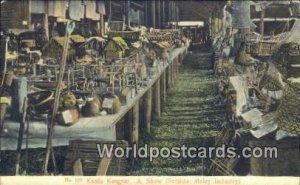 Malay Industry Kuala Kangsar Malaya, Malaysia Unused