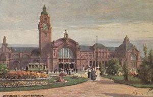 WIESBADEN , Germany, 1900-10s ; Hauptbahnhof ; TUCK 2000