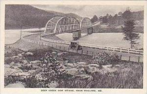 Maryland Oakland Deep Creek Dam Bridge Albertype