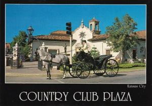 Missouri Kansas City Carriage Ride At Country Club Plaza