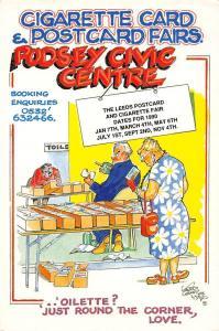 Cigarette Card & Postcard Fairs Pudsey Civic Centre Comic Ad fantasy