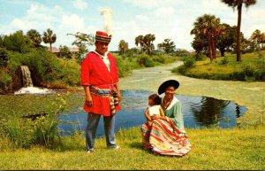 Florida West Hollywood Seminole Okalee Indian Village & Crafts Center
