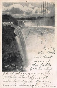 Prospect Point, Nagara Falls, New York, Very Early Postcard, Used in 1904