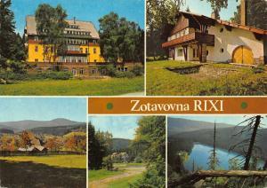 Czech R. Spicak na Sumave Rixi Zotavovna Prokop Postcard