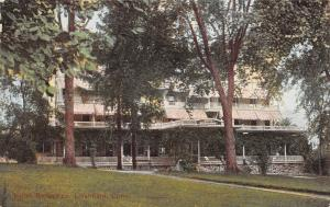 Litchfield Connecticut~Hotel Berkshire~c1914 Postcard
