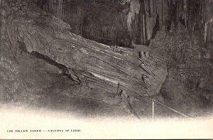 Virginia Caverns Of Luray The Fallen Tower