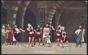 Scourging Soldiers Flogging Jesus from Passion Play Unused c1910s