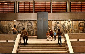 Texas Austin Lyndon Baines Johnson Library Interior 1971