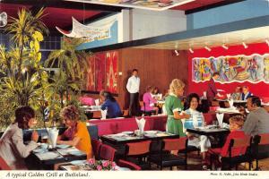 Superb CDS Bognor Regis Cancel Postcard Typical Golden Grill at Butlinland #677