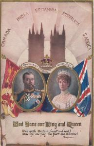 King George V & Queen Mary , 1914 ; TUCK 9868 Coronation Series