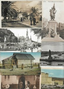 World Postcards Egypt Turkey Canada and more Postcard Lot of 45 with RPPC  01.09