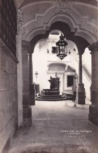 RP, Fuente, La Casa Del Alfeñique (Museo), Puebla, Mexico, 1930-1950s