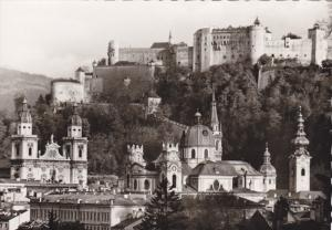 RP; Saltzburg , Austria , 30-40s ; Allstadt vom Monchsberg