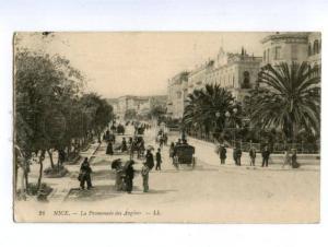 138728 France NICE Promenade des Anglais Vintage PC