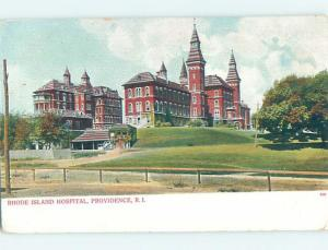 Pre-1907 HOSPITAL SCENE Providence Rhode Island RI W3372