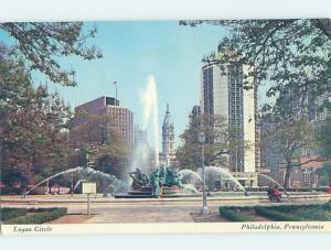 Pre-1980 LOGAN CIRCLE Philadelphia Pennsylvania PA i0943