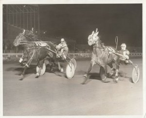 YONKERS RACEWAY, Harness Horse Racing, MAY DAY wins