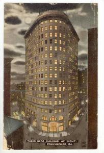 Turks Head Building At Night, Providence, Rhode Island, 00-10s