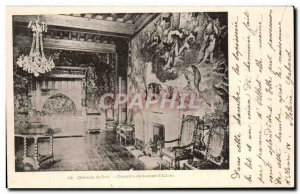 Old Postcard Chateau De Paus Chamber of Jeanne d & # 39Albret