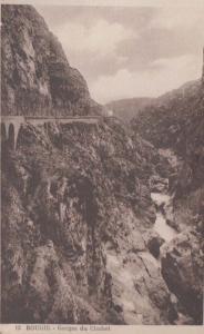 Gorges Du Chabet 13 Bougie Algeria Antique Algerian Mediterranean Old Postcard