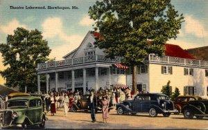 Maine Skowhegan Lakewood Theatre 1945