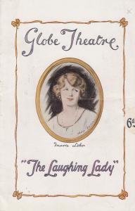 The Laughing Lady Alfred Sutro Comedy Marie Lohr Globe Theatre Programme