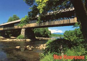 NH - Campton. Blair Covered Bridge