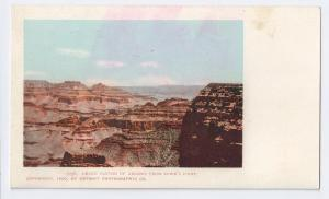 Grand Canyon from Rowe's Point UDB 1900 Detroit Photographic