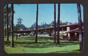 SC El Rancho Motel MYRTLE BEACH SOUTH CAROLINA Postcard