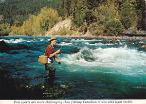 Fly Fishing In Canadian Rivers British Columbia