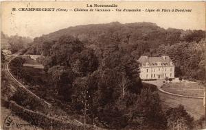 CPA   Champsecret(Orne) - Cháteau de Varennes - Vue d'ensemble -Ligne de(356256)