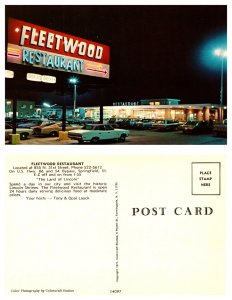 Fleetwood Restaurant, Springfield, Illinois (8502)