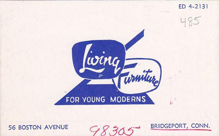 [BC] LIVING FURNITURE Store , BRIDGEPORT , Connecticut, 1930s ; DEXTER  PRESS A
